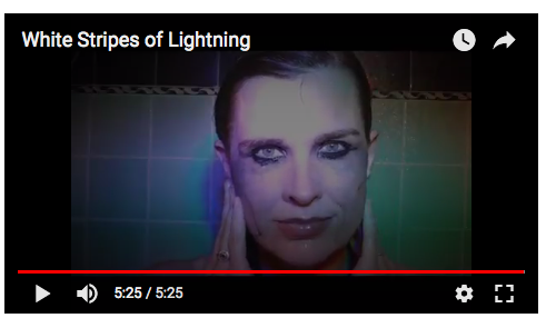 White Stripes of Lightning